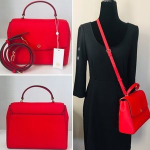 💯 AUTHENTIC TORY BURCH EMERSON STRUCTURE S…